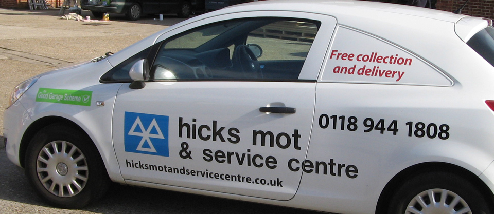 Hicks Mot And Service Centre Woodley Reading